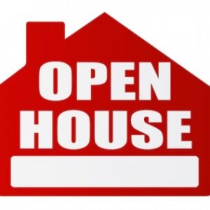 OPEN HOUSES SUNDAY, SEPT 15
